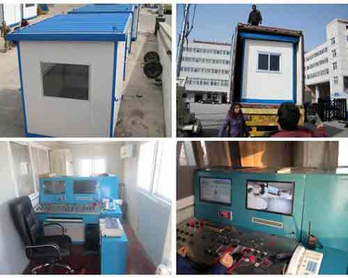 Control rooms of AIMIX Plant