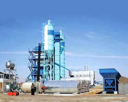 Bitumen Drum Type Mix Plant for sale