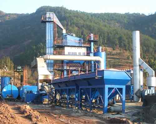 Hot Bitumen Production Plant in AIMIX