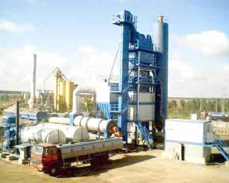 LB1500 asphalt drum mix plant manufacturer