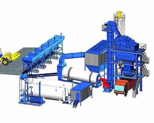 Bitumen Drum Type Mixing Plant for sale