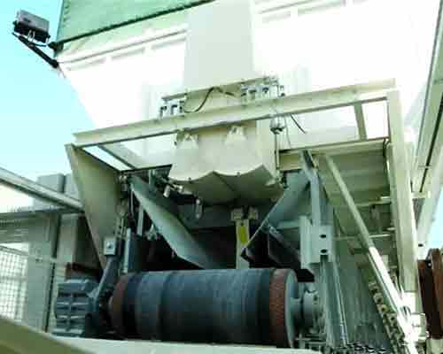 Belt conveyor in Concrete Batching Plant