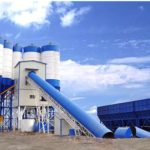 Belt Conveyor Type Concrete Batching Plant