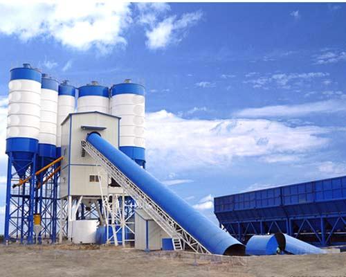 Belt Conveyor Ready Concrete Mix Plant for Sale in AIMIX