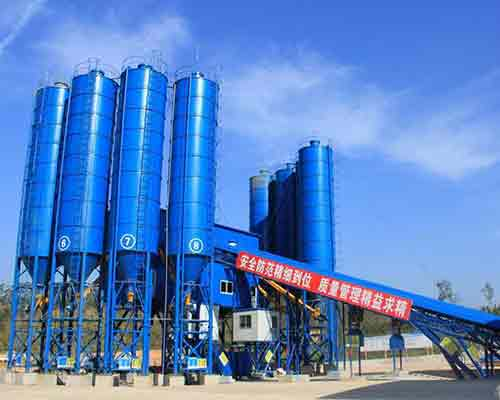 HZS180 Ready Mixed Commercial Concrete Batch Plant for Sale in AIMIX