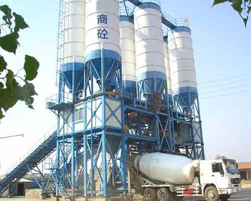HZS120 Commercial Concrete Batch Equipment for Sale in AIMIX