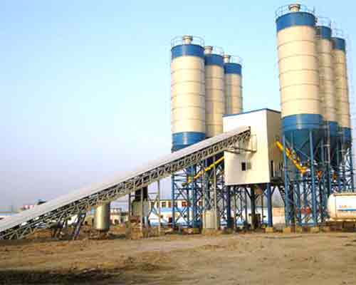 Continuous Concrete Mix Batch Plant for Sale