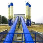 Continuous Concrete Batching Plant