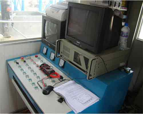 Control Room in Concrete Mix Plant for Sale in AIMIX