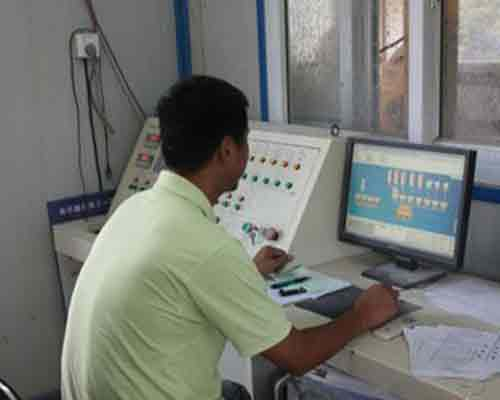 Control Room for Concrete Batch Plant