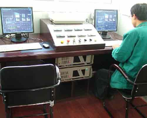 Control Room of Asphalt mix plant