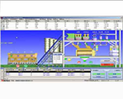 Control System for Concrete Batch Plant of AIMIX for Sale