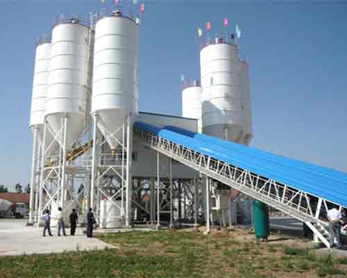 HZS75 Engineering Concrete mixing plant for sale in AIMIX