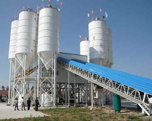 Engineering Concrete Mixing Plant frame