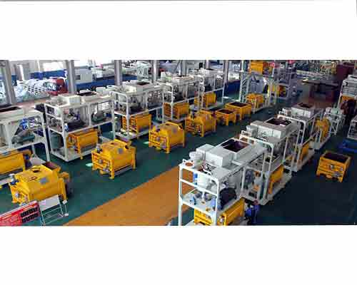 Factory Production Line of AIMIX