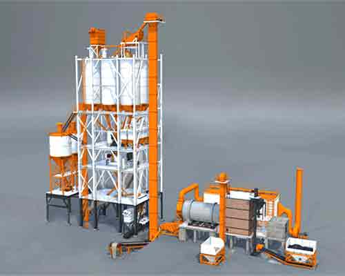 FBJ3000 full automatic dry mix mortar plant for sale in AIMIX