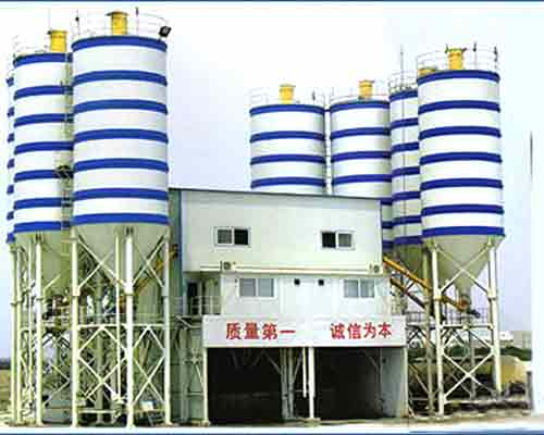 Fully-automatic Concrete Mixing Plants for sale