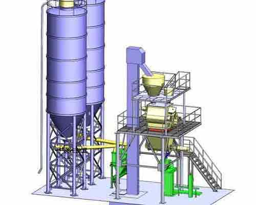 Full automatic Dry Mortar Batching Plant for sale