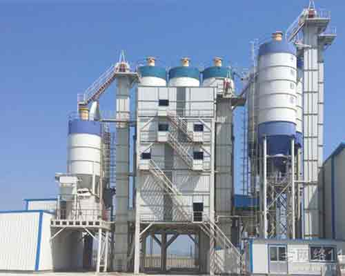 Full auto Dry Mortar Batch Mix Equipment for sale