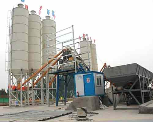 Fully-automatic Concrete Mixing Equipment for sale