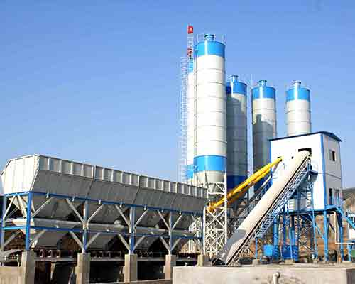 HZS25 Stationary Concrete Batch Plant for sale in AIMIX