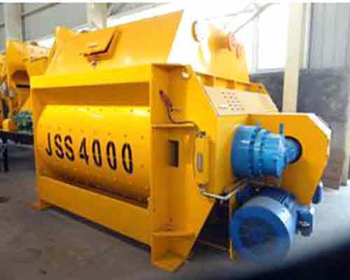 JS4000 Concrete Mixer for Concrete Batching Plant
