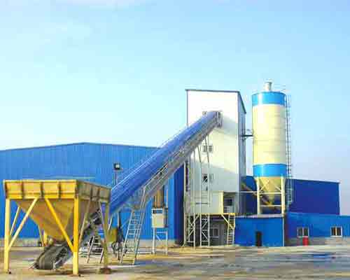 Mini Concrete Batch Plant Cube : Mini concrete batching plant for sale aimix co ltd