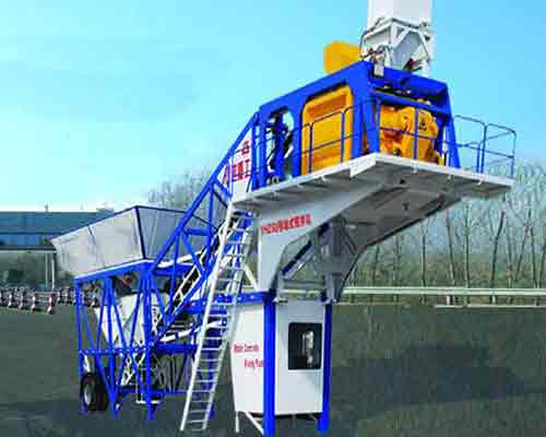 Movable Frame of Concrete Batching Plant for Sale