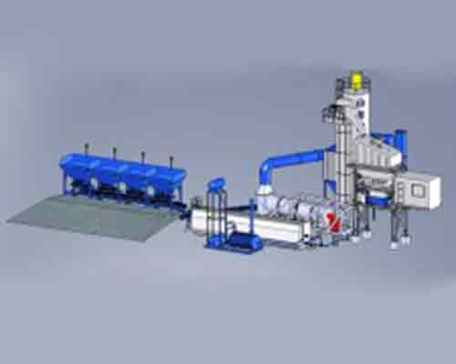 Movable Frame of Asphalt Plant