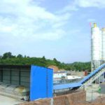 Semi-automatic Concrete Batching Plant