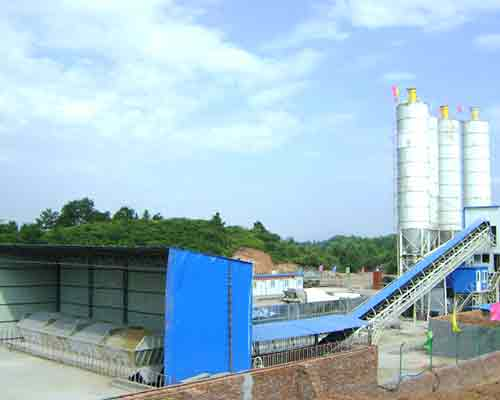 HZS35 Semi-automatic Concrete Mix Plant for Sale in AIMIX