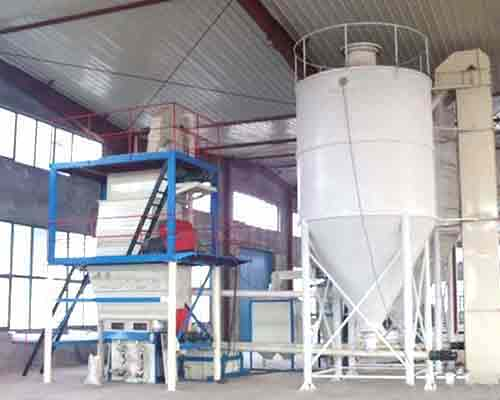 Semi-auto Type Dry Mortar Batching Equipment for sale