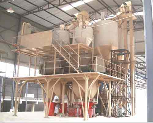 Semi automatic dry mortar mixing equipment for sale