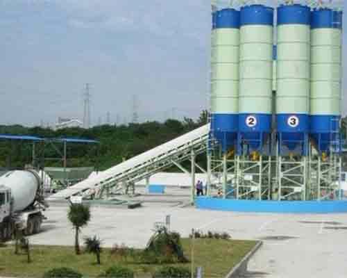 Semi-automatic Concrete Mixing Plant for sale