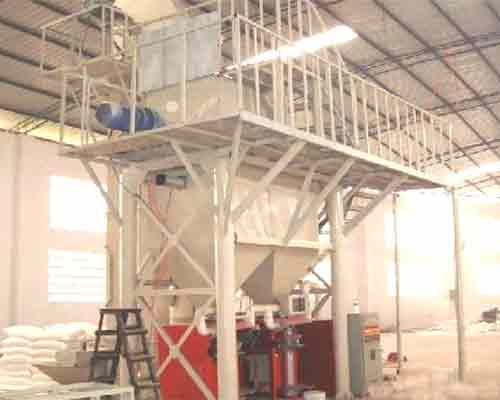 Semi automatic Dry Mortar Production Equipment Machinery for sale