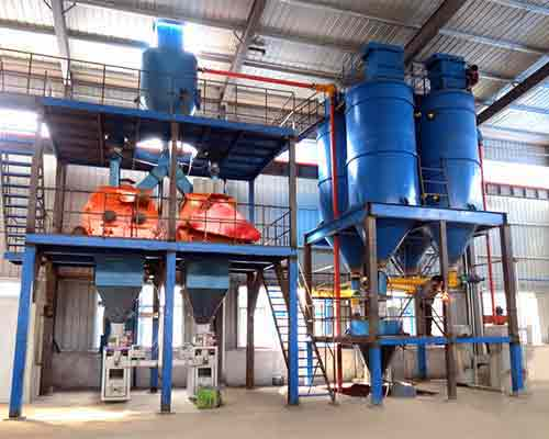 FBJ3000 Semi-auto ready mixed mortar production plant for sale in AIMIX