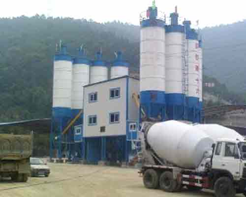 Semi-auto Concrete Mix Equipment for sale