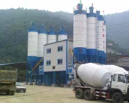 Semi-auto Concrete Mix Equipment for sale