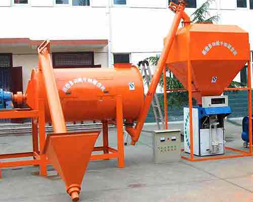 Simple Ready Mixed Dry Mortar Mixing Machinery for sale