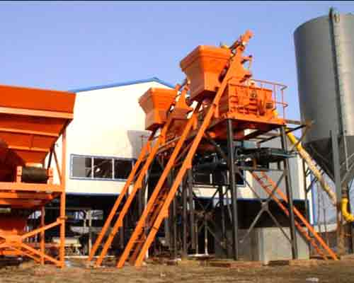Hot Selling Skip Hoist Concrete Production Machinery for Sale