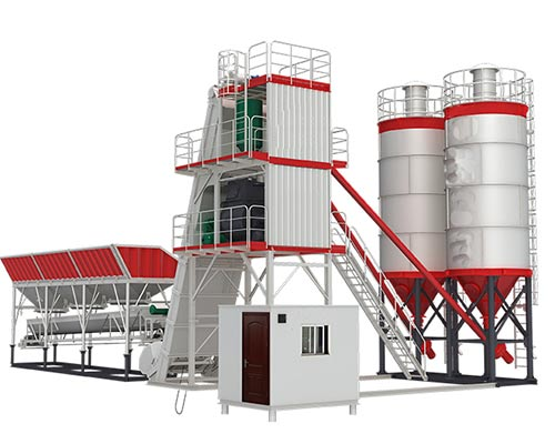 Skip Hoist Type Concrete Mix Plant for Sale