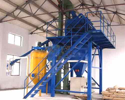 FBJ1200 Special ready mixed dry mortar production equipment for sale in AIMIX