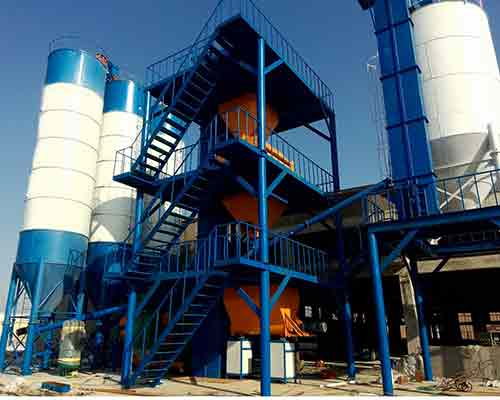 Step Type Dry Mortar Mixing Plant for sale