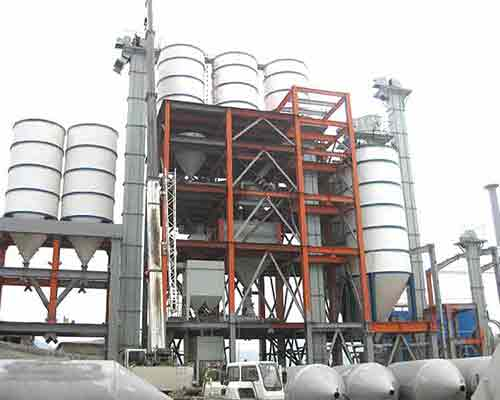 FBJ3000 Ladder Type Ready Mixed Mortar Production Plant for