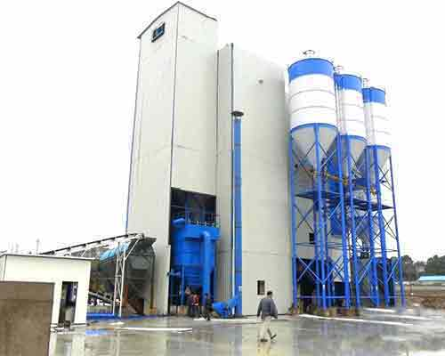 Tower Type Ready Mixed Dry Mortar Production Equipment for sale