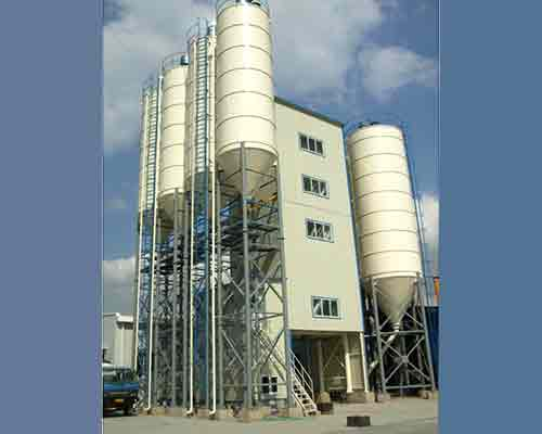 Tower Type Dry Mortar Mixing Plant for sale