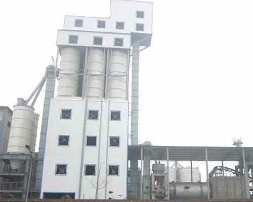 Tower Type Dry Mortar Mixing Machinery for sale