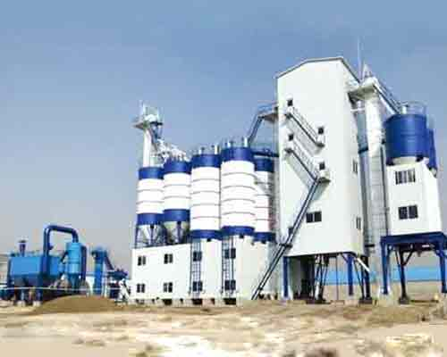 FBJ2000 Tower Full Automatic Dry Mortar Plant for Sale in AIMIX
