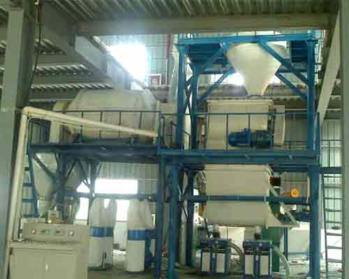 Inorganic thermal insulation mortar production equipment for sale