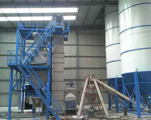 15T Inorganic insulation mortar production plant for sale in AIMIX